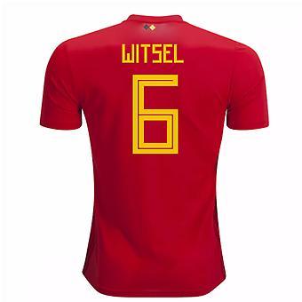 2018-2019 Belgium Adidas Home Shirt (Witsel 6) - Kids