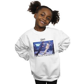 Michael Jackson Girls Smooth Criminal Lean Sweatshirt