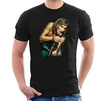 TV kertaa Rod Stewart elää Russell Harty Plus Miesten t-paita