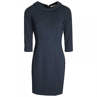 Betty Barclay Roll Collar Textured Shift Dress