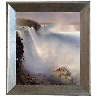 Avec Ram Niagara Falls de la, Frederic E. Church, 61x51cm