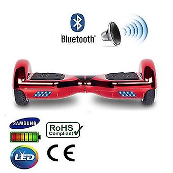 6,5-Zoll rot Chrom Bluetooth Segway Hoverboard