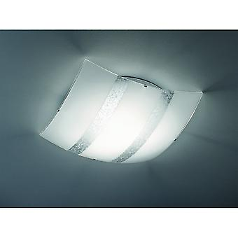 Trio belysning Nikosia Modern Silver glas taklampa