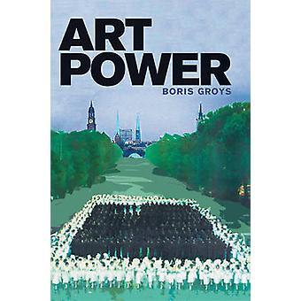 فن السلطة بوريس جرويس-كتاب 9780262518680