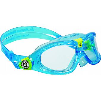 Aqua Sphere Seal Kid 2 Swimming Goggle - Clear Lenses - Aqua Blue