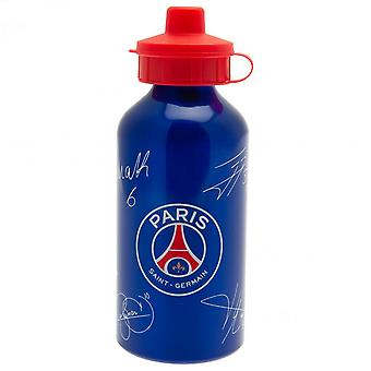 Paris Saint Germain FC Signature Aluminium Drinks Bottle