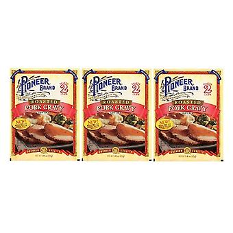 Pioneer Brand Roasted Chicken Gravy Mix 3 Packet Pack