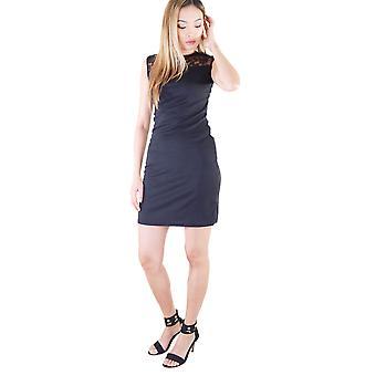 Lovemystyle Black Lace Rücken und Schulter figurbetonten Kleid