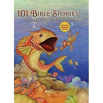 101 Bijbelverhalen van creatie tot openbaring HB