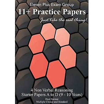 Non-verbal Eleven Plus Starter Papers: 48 Questions / 40 Minutes