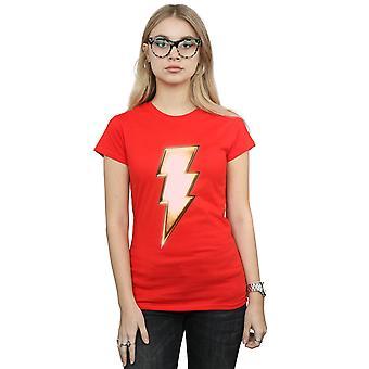 DC Comics Women's Shazam Bolt Logo T-Shirt