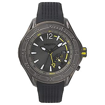 Nautica Analogueico Watch quartz men with Silicone strap NAPBRW003
