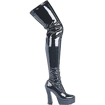 Boot Thrill Thigh Hi Blk Sz 11