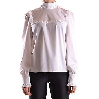 Red Valentino Ezbc026014 Women's White Cotton Blouse