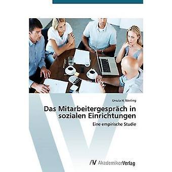 Das Mitarbeitergesprach i Sozialen Einrichtungen av Werling Ursula H.