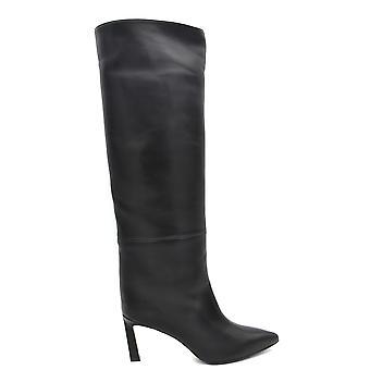 Stuart Weitzman Ezbc158015 Dames's Black Leather Boots