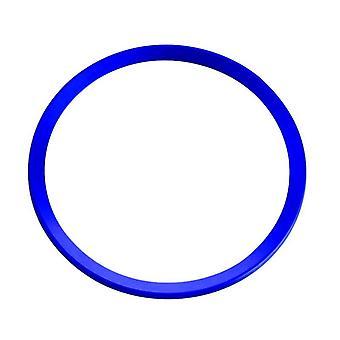 ステアリングステアリング用デコレーションリング、アウディ - ブルー