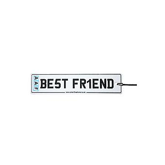 AAF - Best Friend License Plate Car Air Freshener