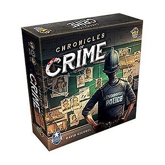 Chronicles of crime jeu de société