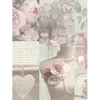 Charlotte Floral Wallpaperl Blush Arthouse 665200