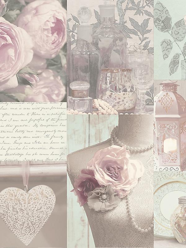 Charlotte Floral Wallpaper Blush Arthouse 665200