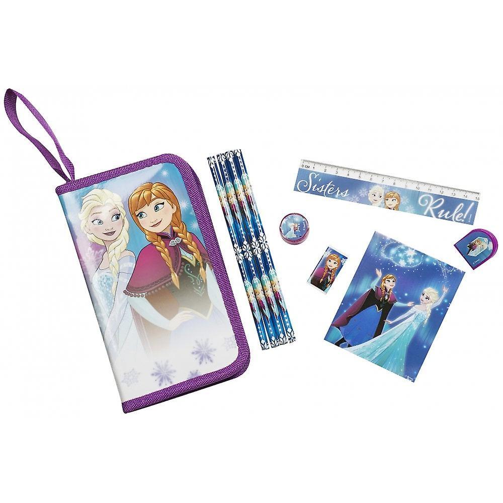 Disney frysta 10 Piece stationär set