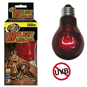 Nayeco Lamp Night Light Red Reptile 100 W (Reptielen , Verlichting , Lampen)