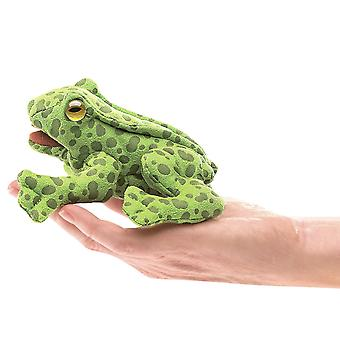 Finger Puppet - Folkmanis - Mini Frog New Toys Soft Doll Plush 2761
