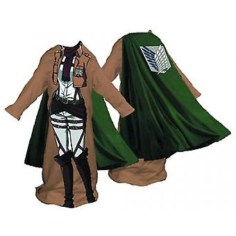 Blanket - Attack On Titan - Survey Corps Woman Cozy New czy-aot-fcape