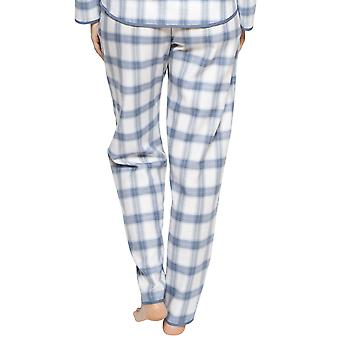 Cyberjammies 4241 kvinder ' s Harper Blue mix check bomuld pyjamas pant