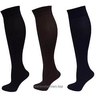 Legacy M/L Graduated Calcetines de Pantalón de Compresión 3 Pk Negro / Marrón / Azul Marino