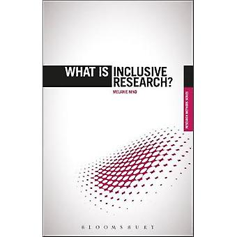 What Is Inclusive Research by Melanie Nind