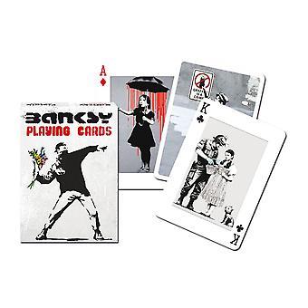 Banksy Satz Spielkarten