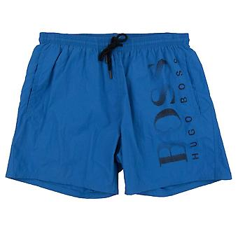 Hugo Boss Octopus Swim Shorts Azul/Negro