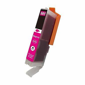Premium magenta kompatibel inkjet-patron til CLI 681MXL
