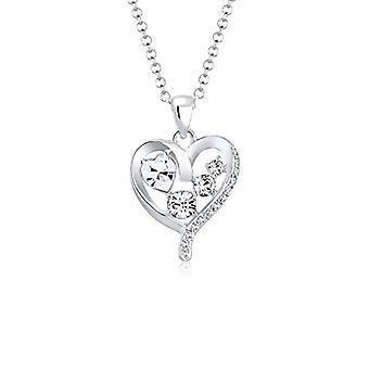 Elli sølv vedhæng halskæde 0110870317_45