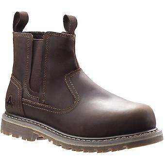 أمبلرز سلامة النساء AS101 أليس الصلب أحذية السلامة من تو