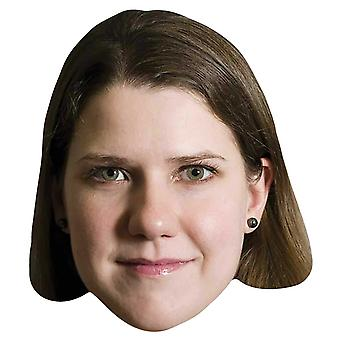 Jo Swinson Politician Single 2D Card Party Fancy Dress Mask