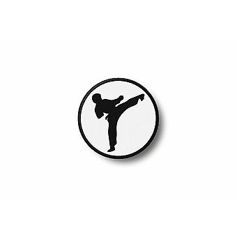 Patch badge badge badge Ecusson Brode print Thermo collant Karate kimono GarcOn