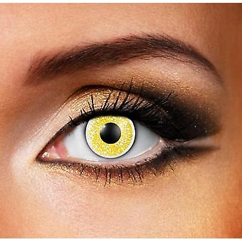 Glimmer Gold Contact Lenses (Pair)
