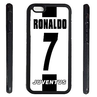 iPhone 6 6s Peel Ronaldo Rubber Shell 7 Juvnetus name & number