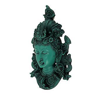 Boeddhistische rode Tara masker muur opknoping
