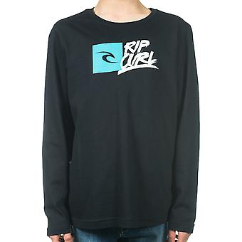 Rip Curl Brash Long Sleeve T-Shirt in Black