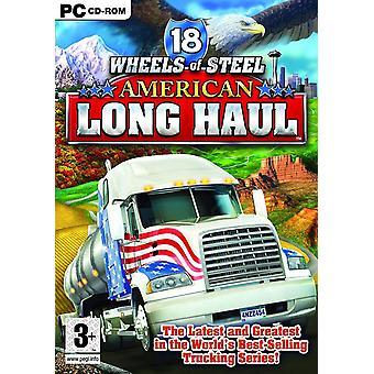 18 kerekek acél amerikai Long Haul PC játék