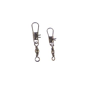 Swimerz Barrel Swivel With Interlock Snap Black Nickel 30 Pack