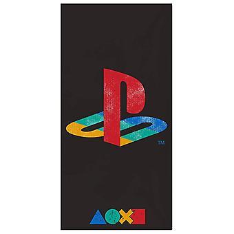 PlayStation retro handduk