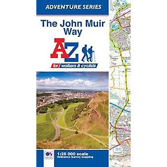 John Muir Way Adventure Atlas door geografen AZ kaart bedrijf
