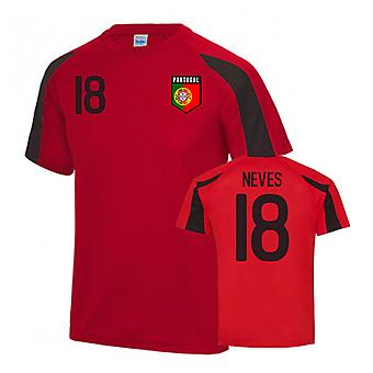 Portugal Sports Training Jersey (Neves 18)