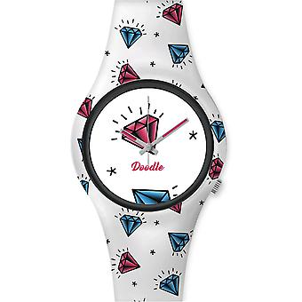 Doodle AMERICANS MOOD DO35003 - Watch Diamond 35mm male/female