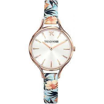 Watch Trendy Kiss TRG10094-03 - Floral blue woman